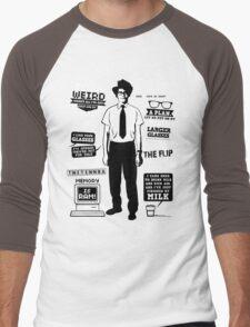 Moss Quotes  Men's Baseball ¾ T-Shirt