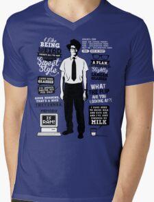 Moss Quotes  Mens V-Neck T-Shirt