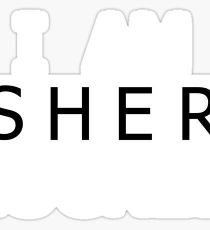 I AM SHER-LOCKED Sticker