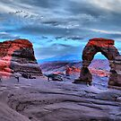 Delicate Arch at Sunset by Gregory Ballos | gregoryballosphoto.com