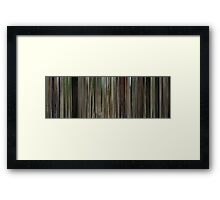 Moviebarcode: The Station Agent (2003) Framed Print