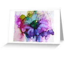 Purple Passion Greeting Card