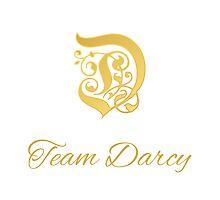 Team Darcy Initial by Sue Cervenka