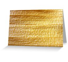 Woven gold? SOLVED by MISFITS herself! Greeting Card