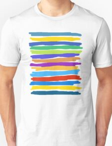 Brush Strokes #1 - Edison Unisex T-Shirt