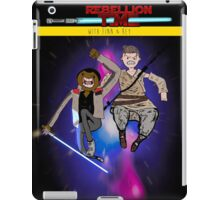 STAR WARS: Rebellion Time- With Finn and Rey iPad Case/Skin