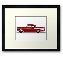 Chevrolet - 1957 BelAir Coupe Framed Print