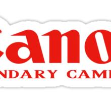 Ganon Legendary Cameras  Sticker