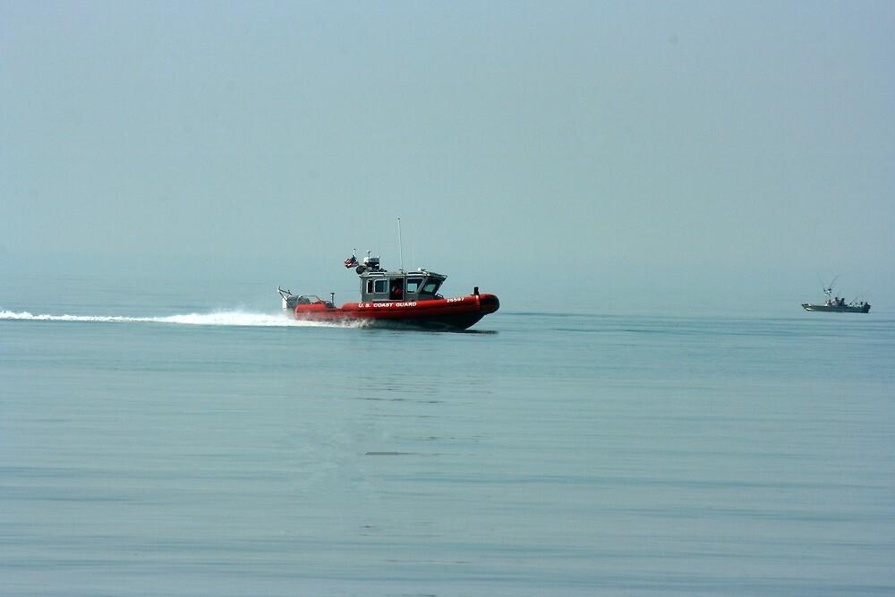 coast gaurd on patrol by wolf6249107