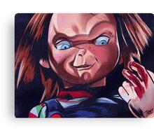 Bloodychuck Canvas Print
