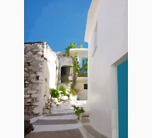 Lots of Steps and Whitewashed Buildings in Greece Unisex T-Shirt