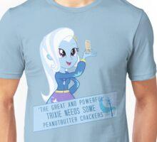 Trixie's peanut butter crackers Unisex T-Shirt