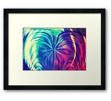 Shades // Shapes Framed Print
