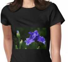Purple Rain Womens Fitted T-Shirt