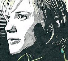 Katee Sackhoff Battlestar Galactica Comic Book Image by chrisjh2210