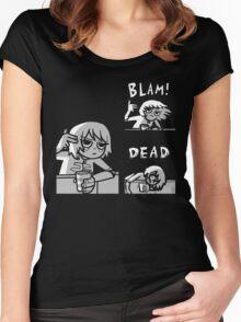 Kim Pine - Gun Women's Fitted Scoop T-Shirt