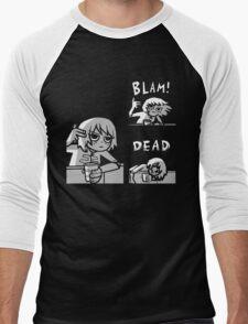 Kim Pine - Gun Men's Baseball ¾ T-Shirt