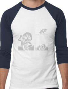 Kim Pine - Gun Men's Baseball ¾ T-Shirt