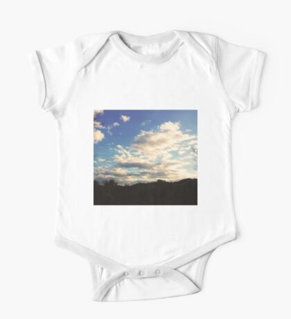 Clouds One Piece - Short Sleeve