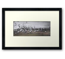 A Piece of the Action Framed Print