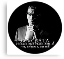 Richie Gecko and Horchata Canvas Print