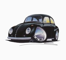 VW Beetle Black by Richard Yeomans