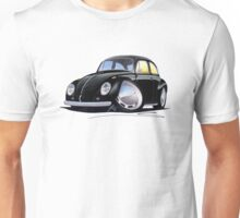 VW Beetle Black Unisex T-Shirt