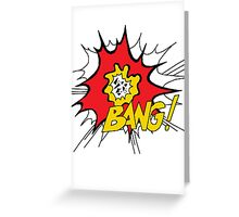World Party - Bang! Greeting Card