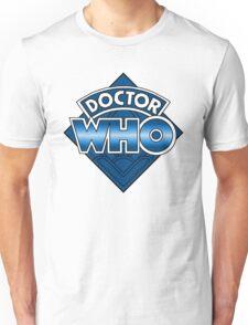 Doctor Who Diamond Logo - Blue Unisex T-Shirt