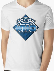 Doctor Who Diamond Logo - Blue T-Shirt