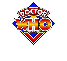 Doctor Who Diamond Logo - Colourful Photographic Print