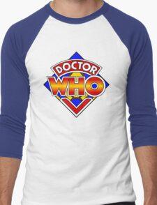 Doctor Who Diamond Logo - Colourful Men's Baseball ¾ T-Shirt