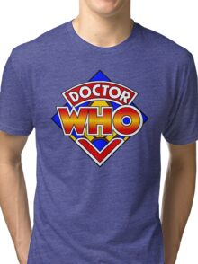 Doctor Who Diamond Logo - Colourful Tri-blend T-Shirt