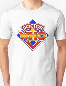 Doctor Who Diamond Logo - Colourful T-Shirt