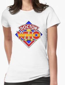 Doctor Who Diamond Logo - Colourful Womens T-Shirt