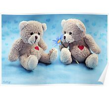 Teddy Love Poster