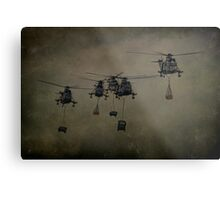 Here Come The Marines Metal Print