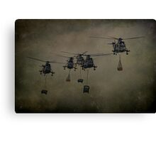 Here Come The Marines Canvas Print