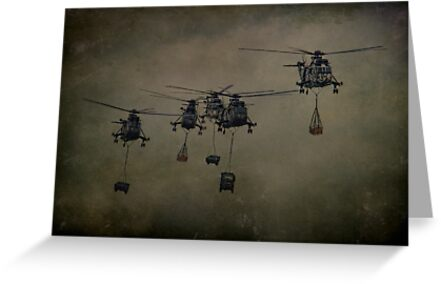 Here Come The Marines by Dave Godden