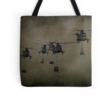 Here Come The Marines Tote Bag