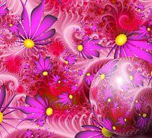 Wallpaper Violet Themed Spring by Junior Mclean