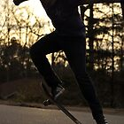 skateboard silhouette by A.R. Williams