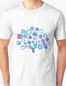 tree of life - blue blossoms Unisex T-Shirt