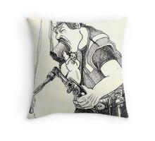 All American Job Throw Pillow