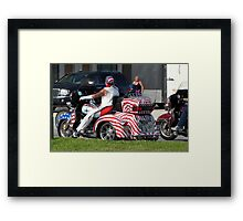 Veteran's tribute Framed Print