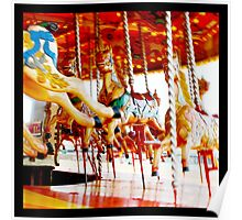 Carousel // Merry Go Round Poster