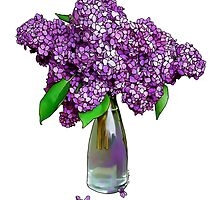 Lovely Lilacs by LynndeeLeBeau
