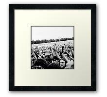 Foo Fighters - Milton Keynes Bowl 2nd July 2011 Framed Print