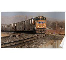Union Pacific Engine Poster