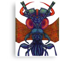Insect alien Canvas Print